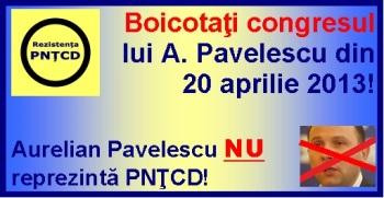 Pavelescu NU este PNTCD!