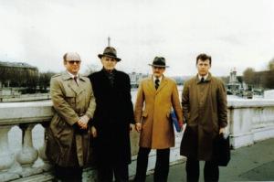 Feb_1990_Prima_vizita_in_strainatate_-_Paris_-_Al-Herlea,_C-Coposu,_Iftene_Pop,_Marius_Luputiu