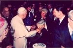 1992. Împreună cu Papa Ion Paul al II lea