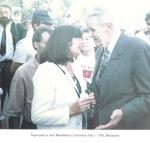 1992. Bucureşti. Împreună cu Ana Blandiana
