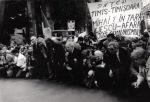 1992. Miting la Bucureşti