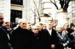 1993. Dezvelirea bustului lui Maniu la sediul PNŢCD