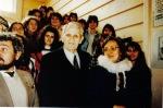 1993. Cu colindătorii, la sediul PNŢCD