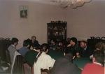 1993. Cu organizaţia de tineret, la sediul PNŢCD