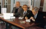 1993. Lansarea cărţii Iuliu Maniu în faţa istoriei