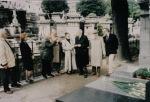 1994. Paris. Vizită la Monumentul ridicat în 1992 în memoria victimelor comunismului