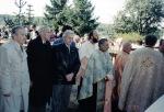 1995-septembrie. Dezvelirea bustului lui Ion Mihalache la Dobreşti