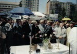 1995-mai. Dezvelirea statuii lui Iuliu Maniu la Alba Iulia