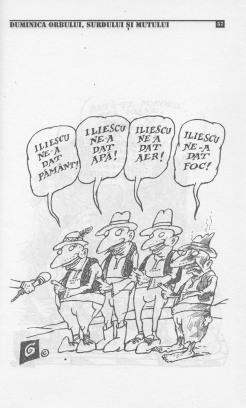 Caricatură de Ion Barbu