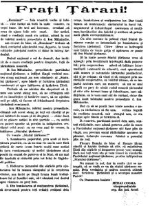 Statul taranesc-ziarul romanul 1935