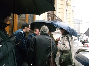 protest fata de vanzare sediu clemenceau-4 dec. 2014-03