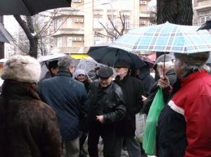 protest fata de vanzare sediu clemenceau-4 dec. 2014-04