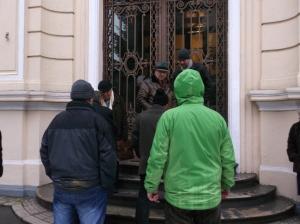protest fata de vanzare sediu clemenceau-4 dec. 2014-27