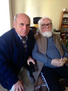 Alexandru Herlea cu Paul Goma