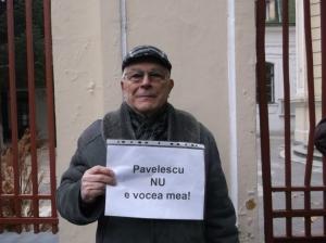 Protest PNTCD Pavelescu demisia-18