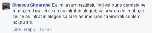 PNTCD Arges Pitesti Dinescu Gheorghe demisie dupa alegeri copy