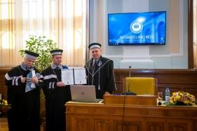 Alexandru Herlea profesor honoris causa UBB Cluj octombrie 201728